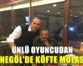 Mesut Akus'ta İnegölde köfte Molası Verdi