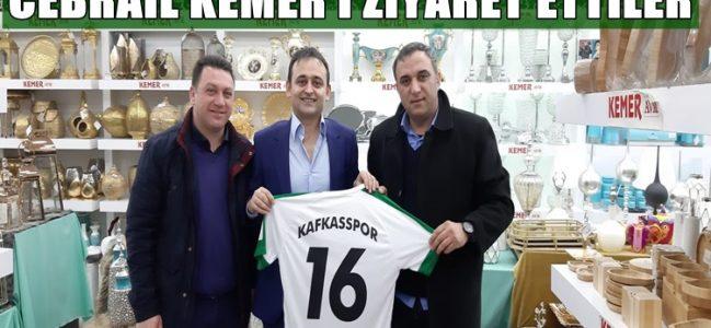 Kafkasspor Yönetiminden Cebrail Kemer'e Ziyaret