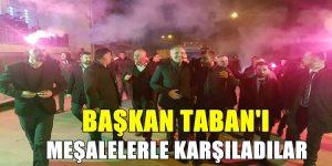 Başkan Taban'a Sevgi Seli