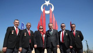 Ecdada vefa; 'Mihraplı Şehitler Anıtı'
