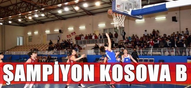 Potada Şampiyon Kosova Koleji B Takımı