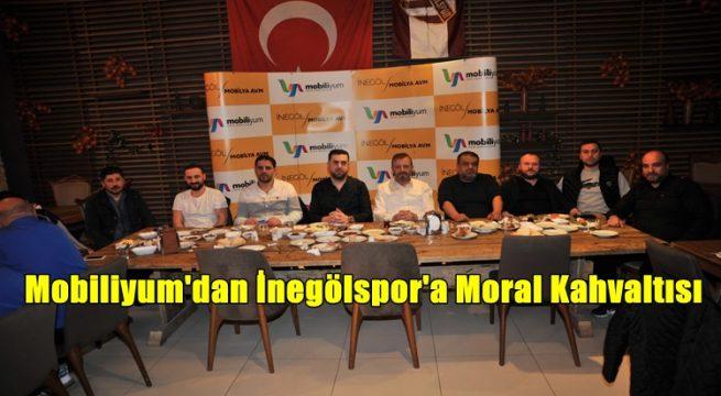 Mobiliyum Avm Yönetimi İnegölspor'a Kahvaltı Verdi