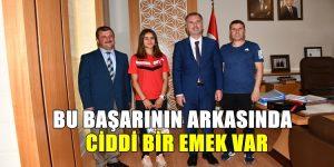 Belediyespor'un Milli Sporcusundan Büyük Başarı