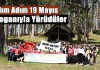Adım Adım 19 Mayıs Sloganıyla Yürüdüler