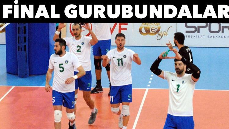 Büyükşehir'in Efeleri final gurubunda