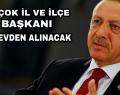 Erdoğan Düğmeye Bastı Büyük Rotasyon Geliyor