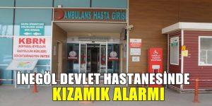 İnegöl'de Kırmızı Alarm Verildi