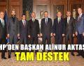 MHP'den Başkan Aktaş'a tam destek