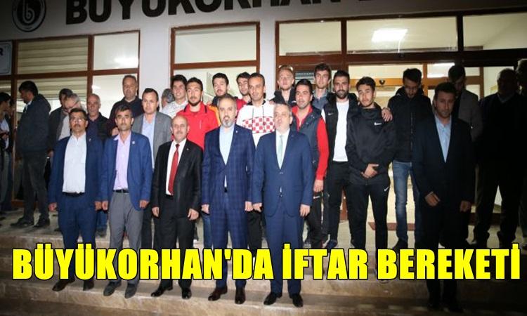 Büyükorhan'da iftar bereketi