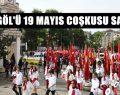 19 Mayıs Coşkusu Gençlik Yürüyüşü İle Başladı