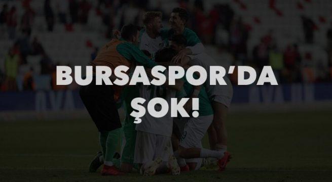 Bursaspor şokta