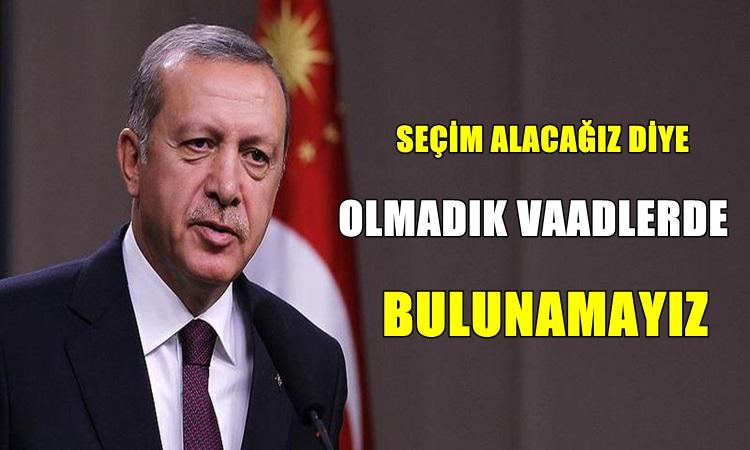 Erdoğan'dan Eyt'lilere Kötü Haber