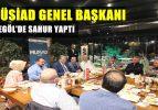 Müsiad Genel Başkanı İnegöl'de Sahur Yaptı