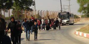 Bir Hafta da 16 Bin Kişi Suriye Tarafina Geçiş Yaptı