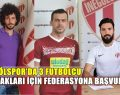 İnegölspor'da 3 Futbolcu Federasyona Başvurdu