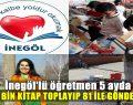 İnegöl'den Türkiye'nin Her Bölgesine Kitap Gönderdiler