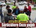 İnegöl'de Motosiklet Sürücülerine Ceza Yağdı