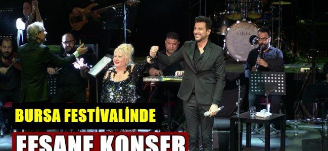 Bursa Festivali'nde Efsane Konser