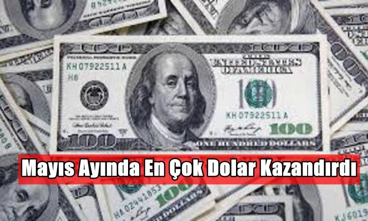 Mayıs Ayında En Çok Dolar Kazandırdı