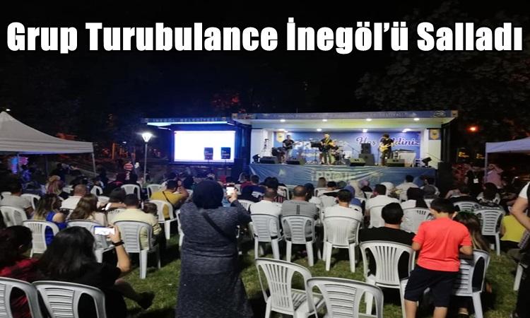 Grup Turubulance İnegöl'ü Salladı