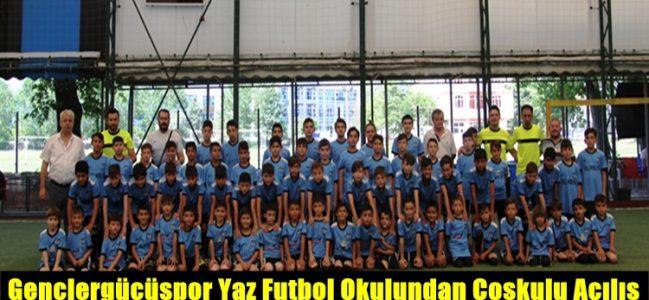 Gençlergücüspor Yaz Futbol Okulundan Coşkulu Açılış