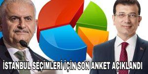 İstanbul Seçimi İçin Anketler Ne Diyor