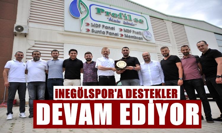 SİLAS FİRMASINDAN İNEGÖLSPOR'A DESTEK