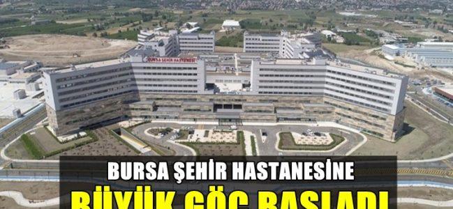 Şehir Hastanesine Büyük Göç Başladı
