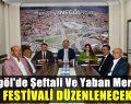 Şeftali Ve Yaban Mersini Festivali Düzenlenecek