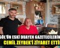 Cemil Zeybek'i Ziyaret Ettik