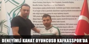 DENEYİMLİ KANAT OYUNCUSU KAFKASSPOR'DA