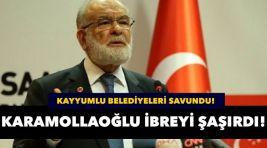 Karamollaoğlu HDP'li belediyeleri savundu