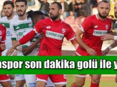 Bursaspor Son dakika Penaltısı ile yıkıldı