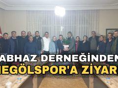 Abhaz'lardan İnegölspor'a Ziyaret