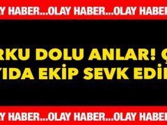 Bursa'da korkutan olay!