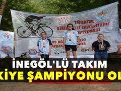 Dostum Oryantiring Takımı Türkiye Şampiyonu