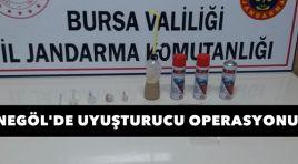 Jandarma'dan Uyuşturucu Operasyon !