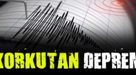 Korkutan Deprem !