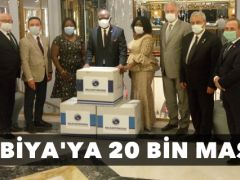 İnegöl Belediyesi'nden Zambiya'ya 20 Bin Maske !