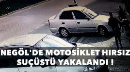 İnegöl'de motosiklet hırsızı suçüstü yakalandı !