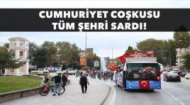 Cumhuriyet Coşkusu Tüm Şehri Sardı