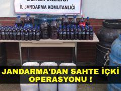 Kaçak içki operasyonu !