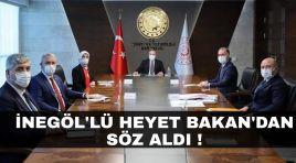 İnegöl'lü heyetten Ankara çıkarması !