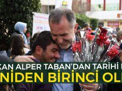Alper Taban Bursa'nın birincisi