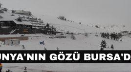 Dünya'nın gözü Bursa'da !