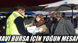 'Mavi Bursa' için yoğun mesai !