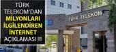 Türk Telekom'dan İddalara Açıklama Geldi