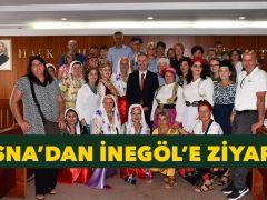 Başkan Taban Bosna Heyetini Mecliste Ağırladı